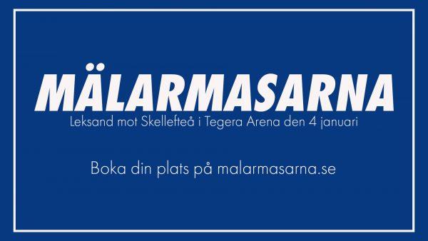 Resa: Leksand – Skellefteå lördag 4 januari